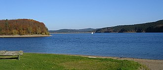 Sorpe Dam - Image: Sundern Sorpesee 1 Asio