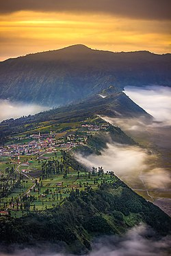 Cemoro Lawang at early morning