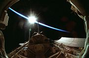 Sunrise over Spacelab