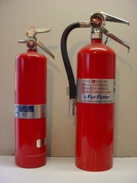 Super-K Dry Chemical extinguishers