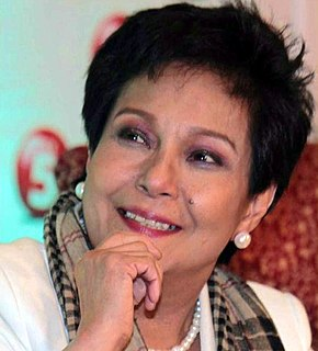 Nora Aunor Filipina actress, recording artist, and film producer