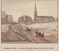 Supreme Court and St James Church 1842.jpg