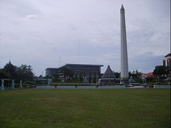 The heroic monument