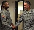 Sustainers brief XVIII Airborne Corps commander on Embedded Behavioral Health Team 130125-A-QD996-005.jpg