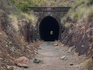 John Forrest National Park - The Swan View Tunnel is located within the park