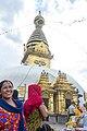 Swayambhunath Stupa -Kathmandu Nepal-0303.jpg