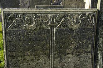 Wymeswold - A William Charles gravestone in Wymeswold churchyard