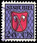 Switzerland Biel Bienne 1933 revenue 20c - 73.jpg