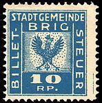 Switzerland Brig revenue 10Rp - 2B.jpg