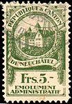 Switzerland Neuchâtel 1921 revenue 1 5Fr - 11D.jpg