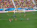 Switzerland and Ecuador match at the FIFA World Cup 2014-06-15 DSC06429 (14427158271).jpg