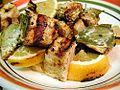Swordfish lemon bayleaf cooking dinner grilled food.jpg