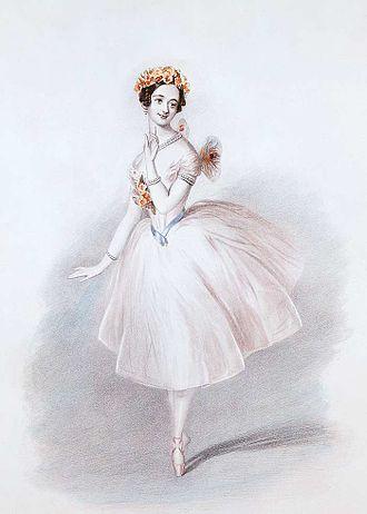 Sylph - Marie Taglioni in La Sylphide