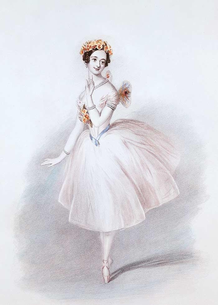 Sylphide -Marie Taglioni -1832 -2