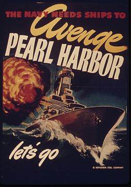 THE NAVY NEEDS SHIPS TO AVENGE PEARL HARBOR - NARA - 515627