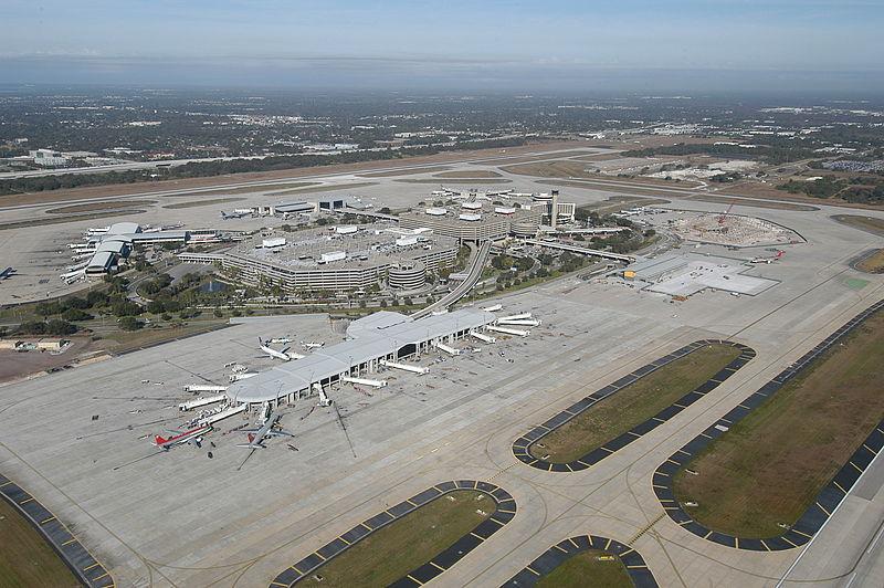 Tampa Airport Map Rental Cars