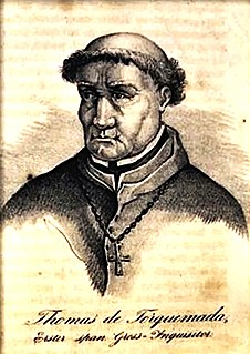 Tomás de Torquemada Grand Inquisitor of Spain