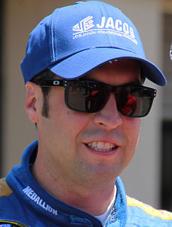 Sam Hornish Jr. American racecar driver