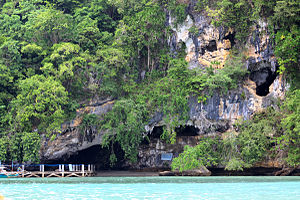 Philippines - The Tabon Caves are the site of one of the oldest human remains known in the Philippines, the Tabon Man