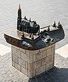Tactile model of Fisherman's Bastion and Matthias Church.jpg