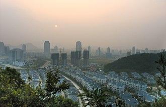 Taizhou, Zhejiang - View of Taizhou