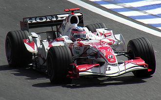 Super Aguri SA06 - Image: Takuma Sato 2006 Brazil