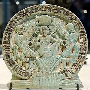 Osorkon C - Image: Talisman water lily Louvre E10943