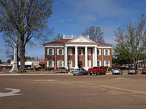 Tallahatchie County Courthouse in Charleston
