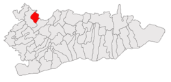 Location of Tămădău Mare