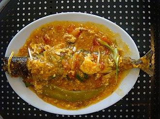 Escabeche - Escabeche of Spanish mackerel (narrow-barred Spanish mackerel)