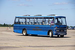 Tantivy Blue Coach Tours coach 37 (A747 DWP), 2010 North Weald bus rally.jpg