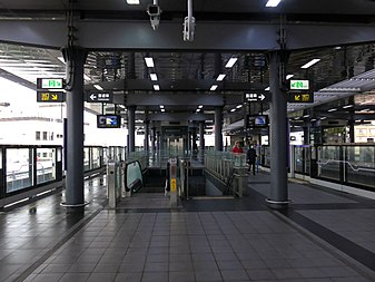 Taoyuan Metro A8 Chang Gung Memorial Hospital Station Platform 2017-02-25.jpg