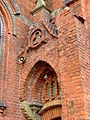 Tarnów, ulica Krakowska, kostel, detail okna.JPG