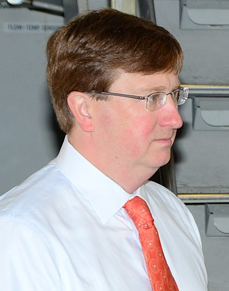 Lieutenant Governor of Mississippi - Current Lieutenant Governor Tate Reeves