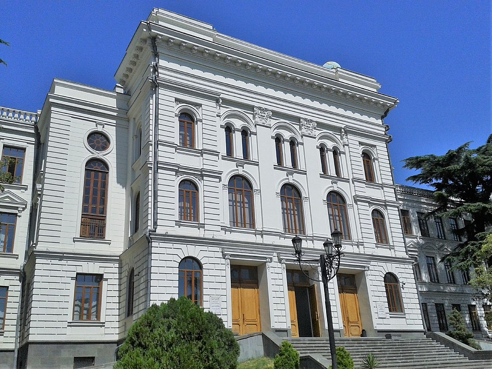 Tbilisi, Georgia — Tbilisi State University, I Corpus's front view