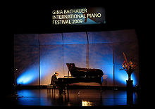 Ted Rosenthal performs in the 2009 Gina Bachauer International Piano Festival