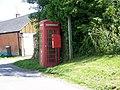 Telephone box, Easton - geograph.org.uk - 1327999.jpg