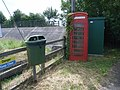 Telephone kiosk at East Lyng - geograph.org.uk - 882631.jpg