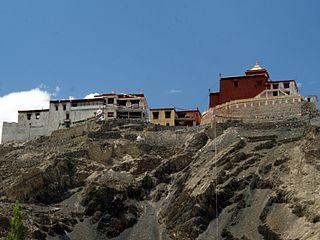 Tingmosgang Place in Ladakh, India