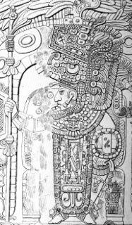 Yik'in Chan K'awiil Ruler of Tikal