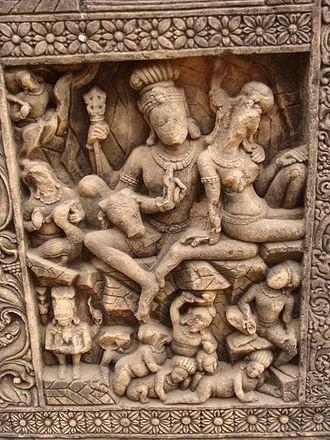 Bilaspur, Chhattisgarh - Temple Carvings in Malhar Bilaspur Chhattisgarh