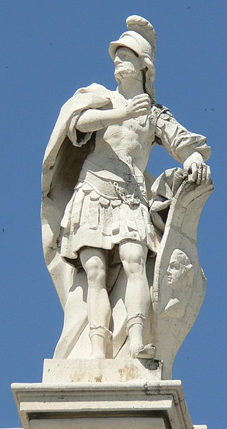 Theodoric I - Statue of Theodoric I in the Royal Palace of Madrid, Spain