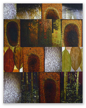 Michael James (quilt artist) - Image: Terminus of One Path