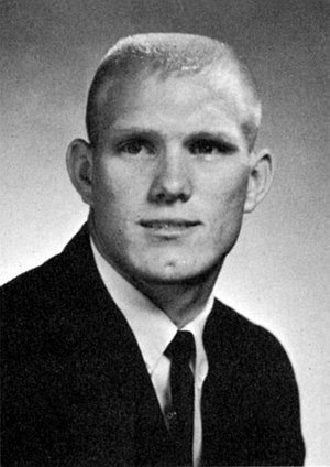 Louisiana Tech Bulldogs football - Terry Bradshaw in 1967 during his playing days at Louisiana Tech