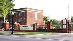 Texas College Tyler Texas 2019.jpg
