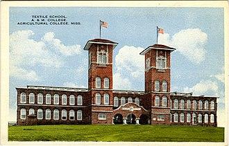 Oktibbeha County, Mississippi - Image: Textile Building Starkville