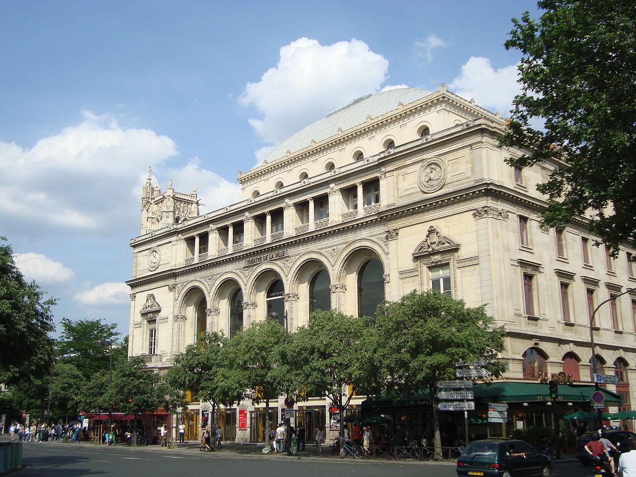 Fichier th tre de la ville fa ade jpg wikip dia for Piscine des 3 villes hem