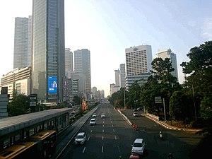 Golden Triangle of Jakarta - Thamrin Road