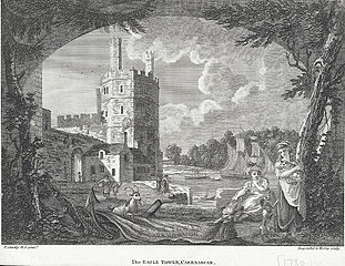 The Eagle Tower, Caernarvan Castle