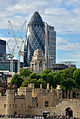 The Gherkin and the Tower (9963286443).jpg